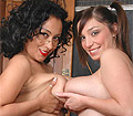 Danica teaches a naughty giant melons student lesbian loving