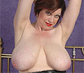 Trudi Stephens reveals her hooters and dildo fucks her pussy